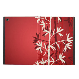 White bamboo red powis iPad air 2 case