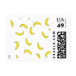 White Banana Postage Stamp