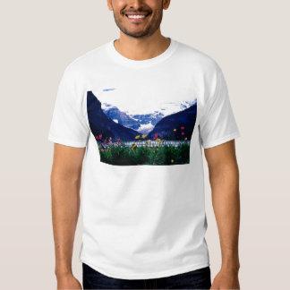 White Banff National Park, Lake Louise flowers T Shirt
