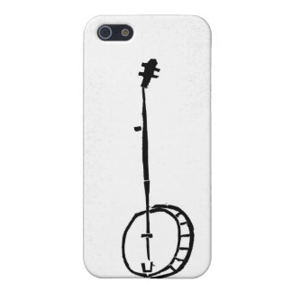 White Banjo on an Iphone Case