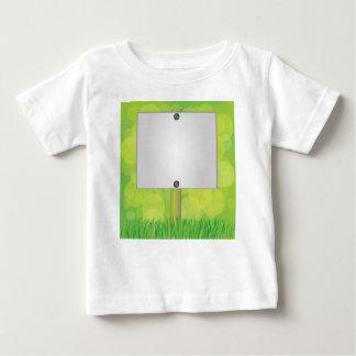 White banner baby T-Shirt
