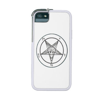 White Baphomet Graft iPhone 5/5S Case