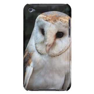 White Barn Owl Barely There iPod Cover