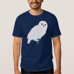 White Barn Owl Graphic T-Shirt