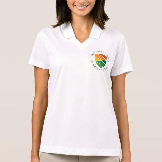 White Barnesville Logo V-neck shirt
