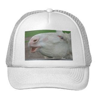 White Baroque Donkey Trucker Hat