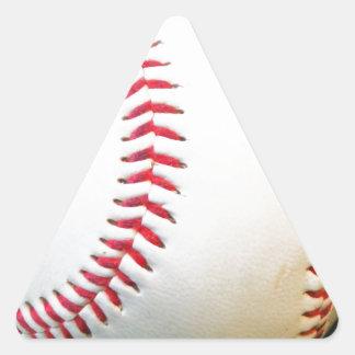 White Baseball with Red Stitching Sticker
