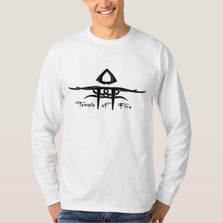 White Basic Long Sleeve-Mens Shirt