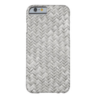 White Basket weave Pattern iPhone 6 Case
