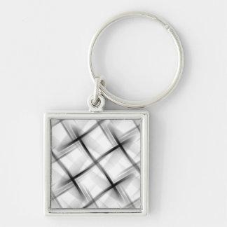 White basket weave texture. key chains