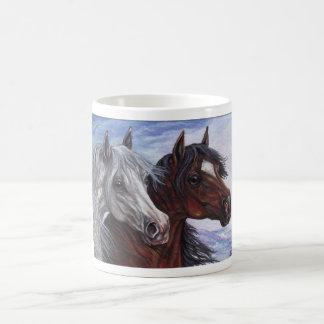 WHITE & BAY ARABIAN HORSE Mug