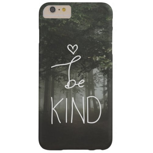 White Be Kind Quote Cute Heart Typography Girly Phone Case