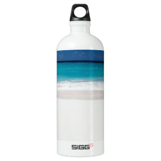 White Beach and Blue Sky SIGG Traveler 1.0L Water Bottle