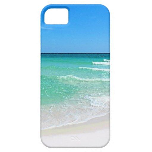 White Beach iPhone 5 Cover