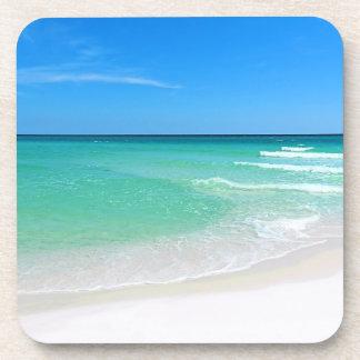 White Beach Coaster