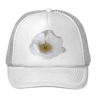 White Beach Rose Apparel Items Trucker Hat