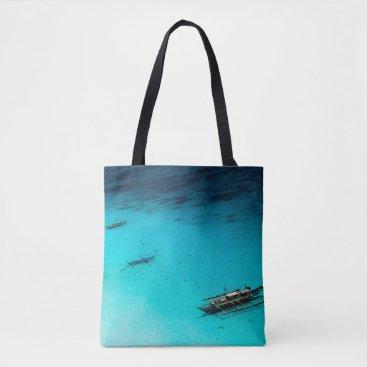 Beach Themed White Beach Tote Bag