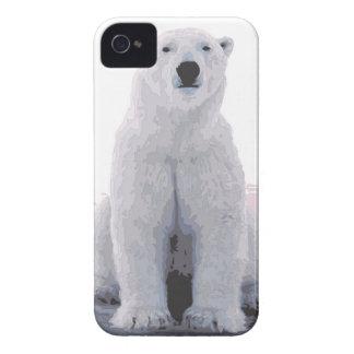 white bear Case-Mate iPhone 4 case