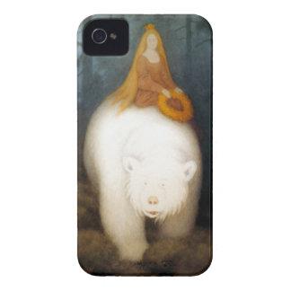 White Bear King Valemon Case-Mate iPhone 4 Cases