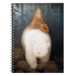White Bear King Valemon Spiral Note Book