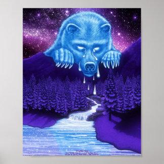White Bear Moon Poster