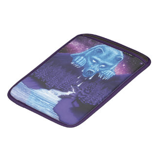 White Bear Moon weeps iPad Sleeve