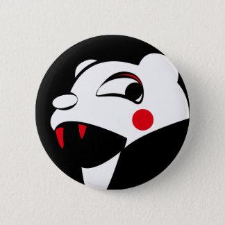 White Bear Pinback Button