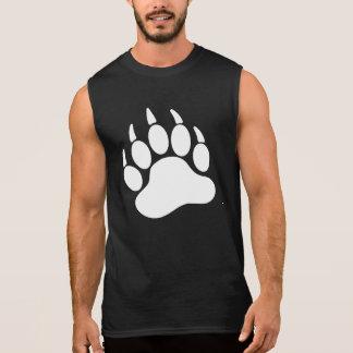 White Bear Pride Bear Claw (L) Sleeveless T-shirts