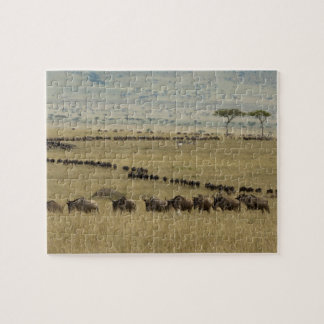 White-bearded Wildebeest or Gnu, Connochaetes 2 Jigsaw Puzzle