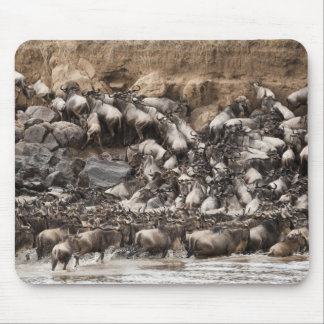 White-bearded Wildebeest or Gnu, Connochaetes Mouse Pad