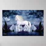 White Beauty Magical Unicorn Poster 1H