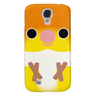 White-bellied Caique Samsung Galaxy S4 Cases