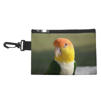 White Bellied Caique Parrot Accessory Bag