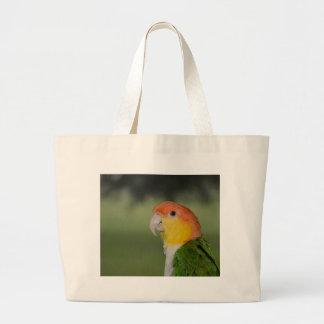 White Bellied Caique Parrot Outdoors Bag
