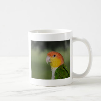 White Bellied Caique Parrot Outdoors Classic White Coffee Mug