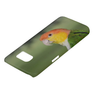 White Bellied Caique Parrot Outdoors Samsung Galaxy S7 Case
