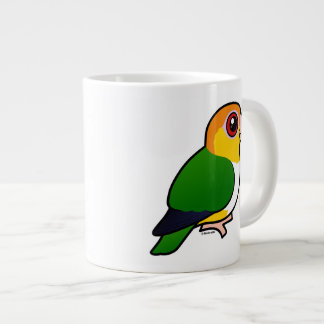 White-bellied Parrot Large Coffee Mug