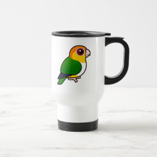White-bellied Parrot Travel Mug