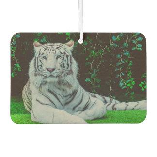 White bengal tiger air freshener