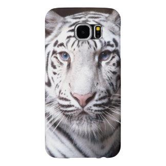White Bengal Tiger Photograph Samsung Galaxy S6 Case
