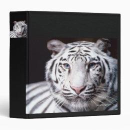 White Bengal Tiger Photography Binder