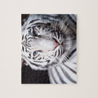 White Bengal Tiger Photography Jigsaw Puzzle