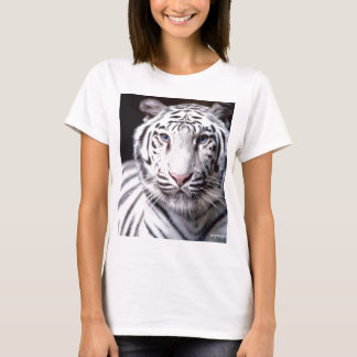White Bengal Tiger Photography T-Shirt