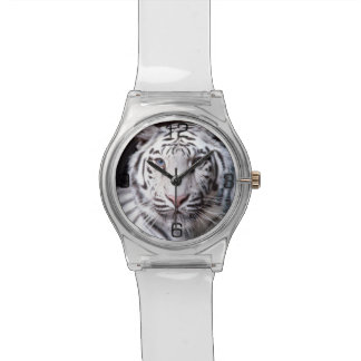 White Bengal Tiger Photography Watches