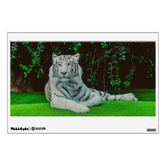 White bengal tiger wall sticker