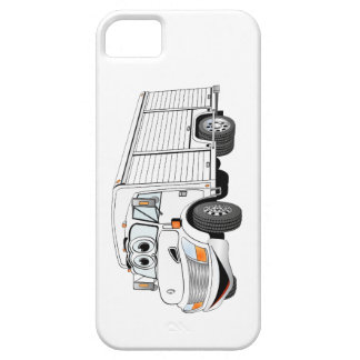 White Beverage Truck Cartoon iPhone SE/5/5s Case