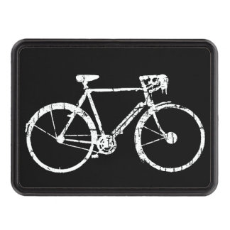 white bike . bicycle trailer hitch cover
