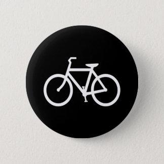 White Bike Route Button