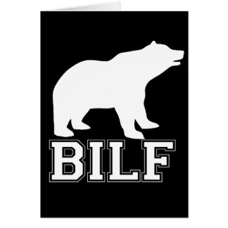 WHITE BILF CARDS