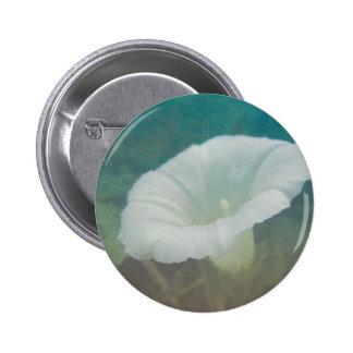 White Bindweed - The Wild Perennial Morning Glory Pinback Button